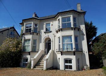 Thumbnail 1 bedroom flat to rent in Brownlow Road, Felixstowe