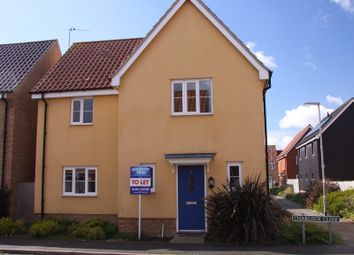 Thumbnail 3 bed property to rent in Charlock Close, Caister-On-Sea, Great Yarmouth