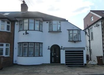 Thumbnail 4 bed semi-detached house to rent in Ventnor Avenue, Stanmore