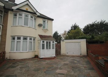 Thumbnail 3 bed semi-detached house to rent in Dunmow Drive, Rainham