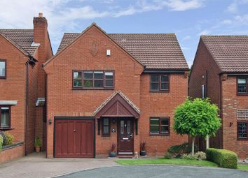 Thumbnail 4 bed detached house for sale in Scholars Gate, Burntwood