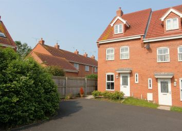 Thumbnail 3 bed semi-detached house for sale in Frost Fields, Castle Donington, Derby