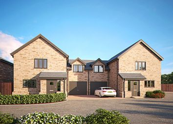 Thumbnail 3 Bed Link Detached House For Sale In Brinkley Road Burrough Green