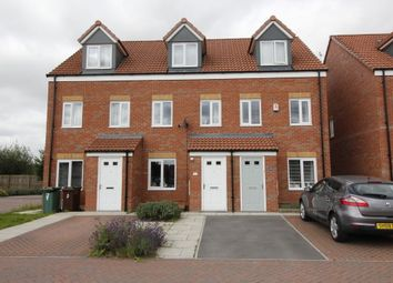 Thumbnail 3 bed town house for sale in Buttercup Court, South Kirkby, Pontefract