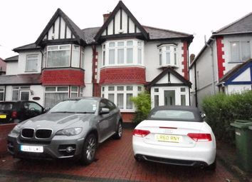 Thumbnail 3 bed semi-detached house to rent in The Dene, Wembley