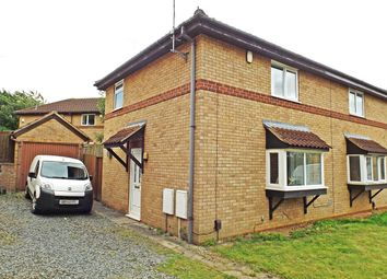Thumbnail 2 bed semi-detached house for sale in Little Gull Close, Northampton