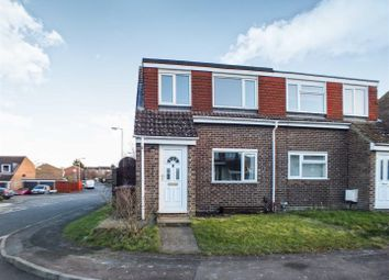 Thumbnail 3 bed semi-detached house to rent in Yeats Close, Royston