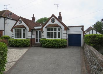 Thumbnail 3 bed detached bungalow for sale in Pevensey Road, Worthing
