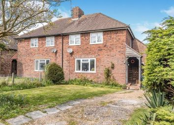 Thumbnail 3 bed end terrace house for sale in Thornscroft, Steyning, West Susses