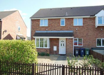 Thumbnail 2 bed end terrace house to rent in Spencer Drive, St. Ives, Huntingdon