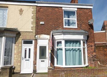 Thumbnail 2 bed end terrace house for sale in Worthing Street, Hull