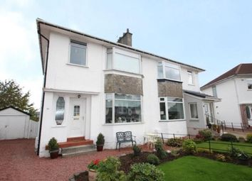 Thumbnail 3 bed semi-detached house for sale in Woodbank Crescent, Clarkston, East Renfrewshire