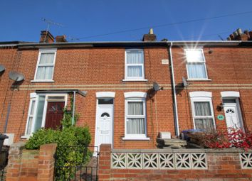 Thumbnail 2 bedroom terraced house to rent in Eustace Road, Ipswich