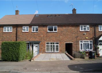 Thumbnail 4 bed terraced house for sale in Ashley Drive, Borehamwood