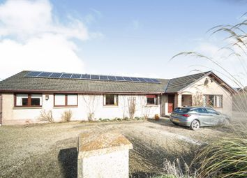 Thumbnail 5 bed detached bungalow for sale in Cornhill, Banff