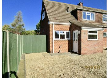 Thumbnail 2 bed semi-detached house for sale in Redland Close, Longlevens, Gloucester