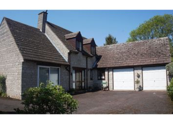 Thumbnail 4 bed detached house for sale in Longthorpe Green, Peterborough