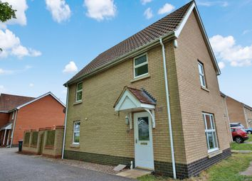 Thumbnail 3 bedroom link-detached house for sale in Alicante Way, Norwich