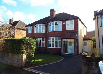 Thumbnail 3 bedroom semi-detached house for sale in Kenilworth Road, Beeston, Nottingham, .