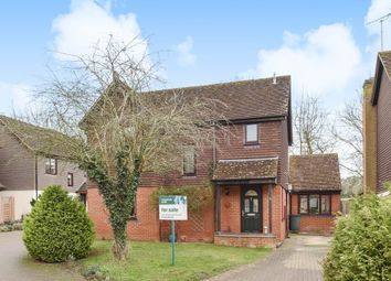 Thumbnail 3 bedroom detached house for sale in Oldfield View, Hartley Wintney, Hook