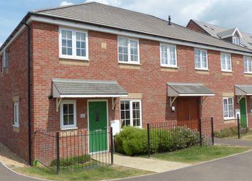 Thumbnail 1 bedroom end terrace house for sale in Apollo Avenue, Cardea, Peterborough