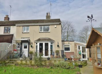 Thumbnail 3 bedroom semi-detached house for sale in Great Easton Road, Caldecott, Market Harborough