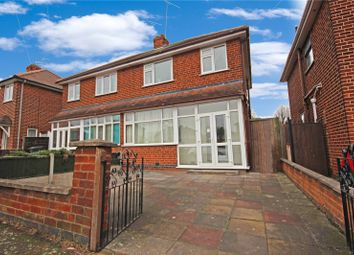 Thumbnail 3 bedroom semi-detached house for sale in Bembridge Road, Leicester