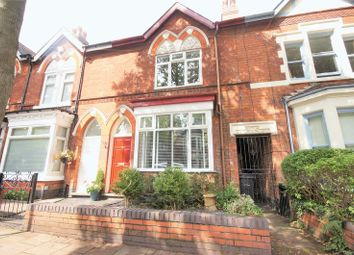 Thumbnail 3 bed terraced house for sale in Second Avenue, Selly Park, Birmingham