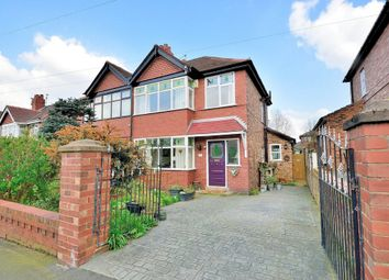 Thumbnail 3 bed semi-detached house for sale in St. Annes Avenue, Grappenhall, Warrington