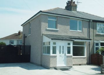 Thumbnail 3 bed semi-detached house for sale in Tibicar Drive West, Heysham, Morecambe
