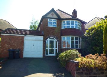 Thumbnail 3 bed detached house for sale in Whitley Court Road, Quinton, Birmingham