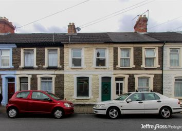 Thumbnail 3 bed terraced house for sale in Cyfarthfa Street, Roath, Cardiff