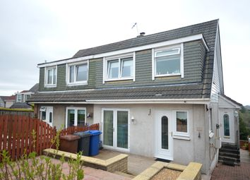 Thumbnail 3 bed semi-detached house for sale in Braehead Road, Duntocher, Clydebank