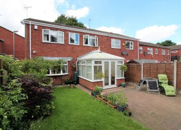 Thumbnail 3 bed town house for sale in Clift Close, Willenhall