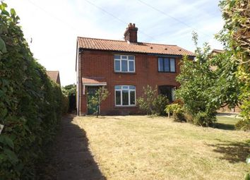 Thumbnail 3 bed semi-detached house for sale in East Runton, Cromer