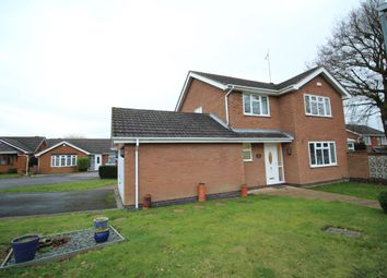 Thumbnail 4 bed detached house for sale in Silver Birch Avenue, Bedworth