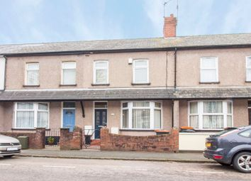 Thumbnail 4 bed terraced house for sale in Durham Road, Newport