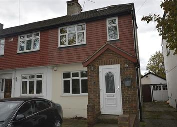 Thumbnail 3 bed end terrace house to rent in Colchester Road, Harold Wood, Romford