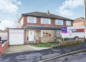 Thumbnail 3 bed semi-detached house for sale in Sunny Bank Walk, Mirfield