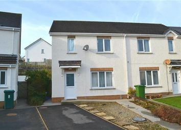 Thumbnail 2 bed semi-detached house for sale in Maes Dewi, Pentremeurig, Carmarthen