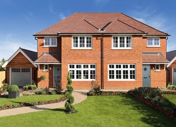 Thumbnail 3 bed semi-detached house for sale in Weston Grove, New Road, Weston Turville, Aylesbury
