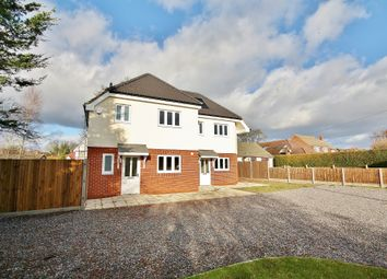 Thumbnail 3 bed semi-detached house for sale in Kings Road, West End, Woking