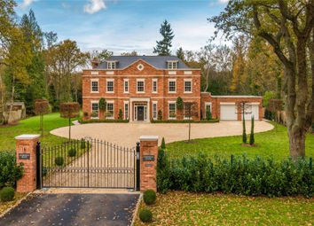 Thumbnail 6 bed detached house for sale in Worplesdon Hill, Surrey
