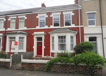 Thumbnail 3 bed terraced house to rent in Grafton Road, Whitley Bay