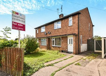 Thumbnail 2 bedroom semi-detached house for sale in Bracknell Drive, Alvaston, Derby