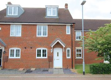 Thumbnail 4 bed town house to rent in Thistle Close, Yaxley, Peterborough