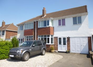 Thumbnail 5 bed semi-detached house for sale in Weston Crescent, Aldridge, Walsall