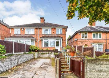 Thumbnail 3 bed semi-detached house for sale in Streetly Road, Erdington, Birmingham, West Midlands