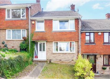 Thumbnail 3 bed terraced house for sale in Sundridge Drive, Chatham