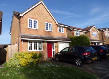 Thumbnail 4 bed detached house for sale in Pearman Drive, Andover